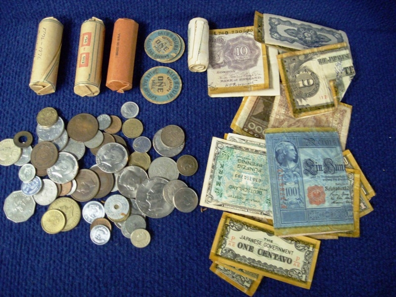 US & FOREIGN COINS/CURRENCY