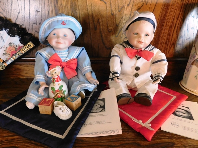 AMANDA & MATTHEW BISQUE DOLLS (Original in the Yolando Picture Perfect Babies Collection) - 45